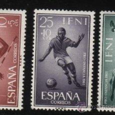 Sellos: S-2784- IFNI. PRO INFANCIA 1961. DEPORTES. Lote 23636539