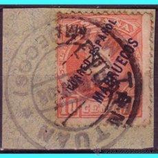 Sellos: MARRUECOS 1908 SELLOS DE ESPAÑA HABILITADOS, EDIFIL Nº 26 (O). Lote 25153462