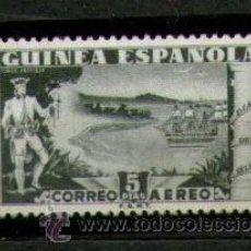 Sellos: GUINEA ESPAÑOLA - UN SELLO NUEVO - DÍA DEL SELLO - AÑO 1949. Lote 25817093