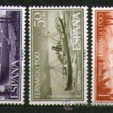 Sellos: LOTE DE 3 SELLOS NUEVOS DE LA COLONIA DE FERNANDO POO - PRO INFANCIA - AÑO 1962.. Lote 25831061