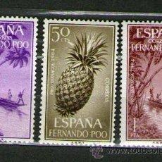 Sellos: LOTE DE 3 SELLOS NUEVOS DE LA COLONIA DE FERNANDO POO - PRO INFANCIA - AÑO 1964. Lote 25831203
