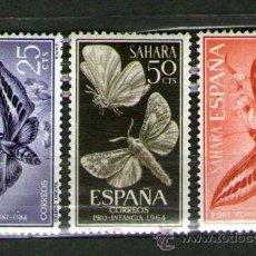 Sellos: SAHARA ESPAÑOL: LOTE DE 3 SELLOS NUEVOS - PRO INFANCIA - AÑO 1964. Lote 25924376