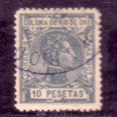 Sellos: RIO DE ORO .- Nº 33 ALFONSO XIII MATASELLADO. . Lote 26507865