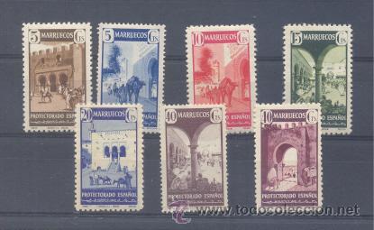 MARRUECOS. EDIFIL 234/40 * (Sellos - España - Colonias Españolas y Dependencias - África - Marruecos)