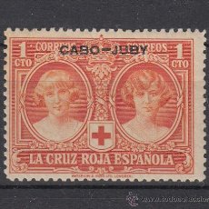 Sellos: ,CABO JUBY 26 CON CHARNELA, CRUZ ROJA ESPAÑOLA. Lote 27769560