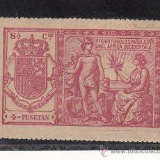 Sellos: ,AFRICA OCCIDENTAL CATALOGO GALVEZ 1923 POLIZA 89 SIN CHARNELA, . Lote 27802060