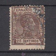 Sellos: ,FERNANDO POO 159 USADA, ALFONSO XIII. Lote 27897181