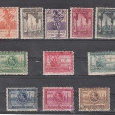 Sellos: ,FERNANDO POO 168/78 SIN CHARNELA, SOBRECARGADO, EXPOSICION DE SEVILLA Y BARCELONA, . Lote 27897097