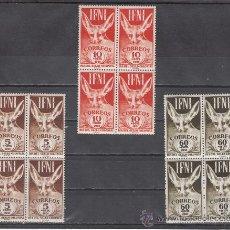 Sellos: ,IFNI 76/8 EN B4 SIN CHARNELA, DIA DEL SELLO, FAUNA, . Lote 27949603