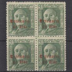 Sellos: ,IFNI 49 EN B4 SIN CHARNELA, SOBRECARGADO,. Lote 195380006