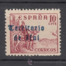 Sellos: ,IFNI 40 SIN CHARNELA, SOBRECARGADO,. Lote 136406382