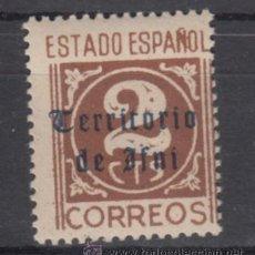 Sellos: ,IFNI 37 SIN CHARNELA, SOBRECARGADO,. Lote 136406360