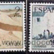 Sellos: SAHARA 1973 - PRO INFANCIA - PINTURAS - EDIFIL Nº 310-311. Lote 73637857