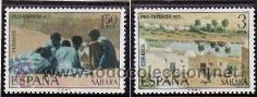 SAHARA 1975 - PRO INFANCIA - PINTURAS - EDIFIL Nº 320-321 (Sellos - España - Colonias Españolas y Dependencias - África - Sahara)