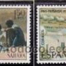 Sellos: SAHARA 1975 - PRO INFANCIA - PINTURAS - EDIFIL Nº 320-321. Lote 28015594
