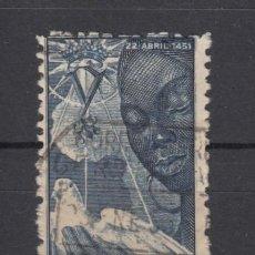 Sellos: ,GUINEA 305 USADA, V CENTENARIO DE ISABEL LA CATOLICA . Lote 28165887