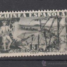 Sellos: ,GUINEA 276 USADA, DIA DEL SELLO, CONDE DE ARGELEJO, PRIMER GOBERNADOR DE GUINEA . Lote 58548543