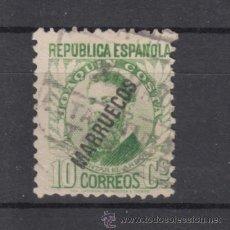 Sellos: ,TANGER 73 USADA, SOBRECARGADO, . Lote 77819795