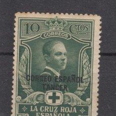 Sellos: ,TANGER 26 SIN CHARNELA, CRUZ ROJA, SOBRECARGADO, . Lote 28303245