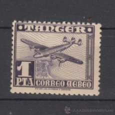 Sellos: ,TANGER 169 CON CHARNELA, AVION,. Lote 287160878