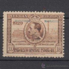 Sellos: ,MARRUECOS 131 CON CHARNELA, SOBRECARGADO . Lote 28334441