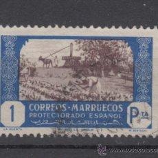 Sellos: ,MARRUECOS 257 USADA, LA HUERTA, . Lote 147232594