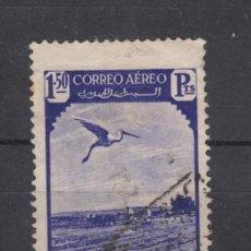 Selos: ,MARRUECOS 193 USADA, FAUNA, AVES, EL PICABUEYES. Lote 58567878