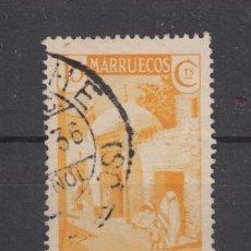 Sellos: ,MARRUECOS 137 USADA, ALCAZARQUIVIR,. Lote 256070080