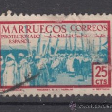 Sellos: ,MARRUECOS 347 USADA, LAS COFRADIAS, . Lote 147232342