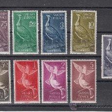 Sellos: ,SAHARA 180/8 SIN CHARNELA, AVES, FAUNA, PALOMA BRAVIA,. Lote 28378369
