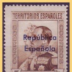 Sellos: GUINEA 1932 SELLOS DE 1931 HABILITADOS, EDIFIL Nº 243 *. Lote 28712118