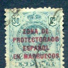 Sellos: EDIFIL 63 DE MARRUECOS ESPAÑOL. MATASELLADO. BIEN CENTRADO.. Lote 29042029