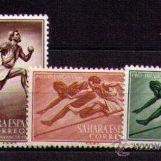 Sellos: SAHARA 1954 - PRO INFANCIA - DEPORTES - EDIFIL Nº 112-115. Lote 29973993