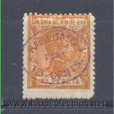 """Sellos: EDIFIL 40 * RIO DE ORO"""". Lote 30284491"""