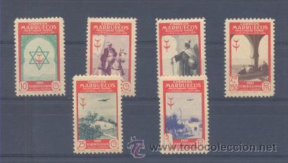 MARRUECOS. EDIFIL 291/96 ** (Sellos - España - Colonias Españolas y Dependencias - África - Marruecos)