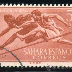 Sellos: COLONIAS ESPAÑOLAS SAHARA, EDIFIL 112, USADO. Lote 31270824
