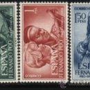 Sellos: S-4719- FERNANDO POO. PRO INFANCIA 1966. Lote 31277241