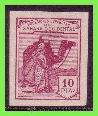 SAHARA 1937 TIPOS DE 1924, EDIFIL Nº NE10 (*) (Sellos - España - Colonias Españolas y Dependencias - África - Sahara)
