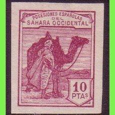Sellos: SAHARA 1937 TIPOS DE 1924, EDIFIL Nº NE10 (*). Lote 33007426