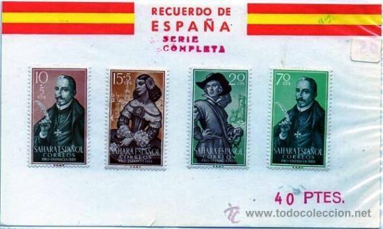 SAHARA ESPAÑOL.- EDIFIL Nº 156/9*, EN NUEVO (EXC-137) (Sellos - España - Colonias Españolas y Dependencias - África - Sahara)