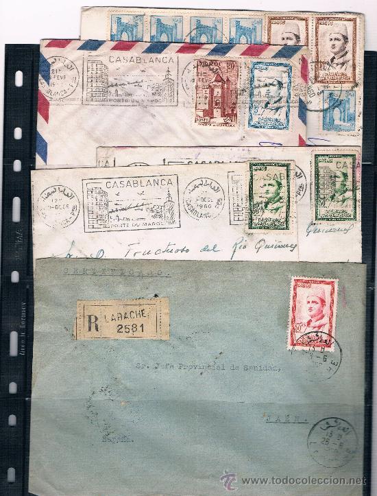 HIISTORIA POSTAL .-MARRUECOS (Sellos - España - Colonias Españolas y Dependencias - África - Marruecos)