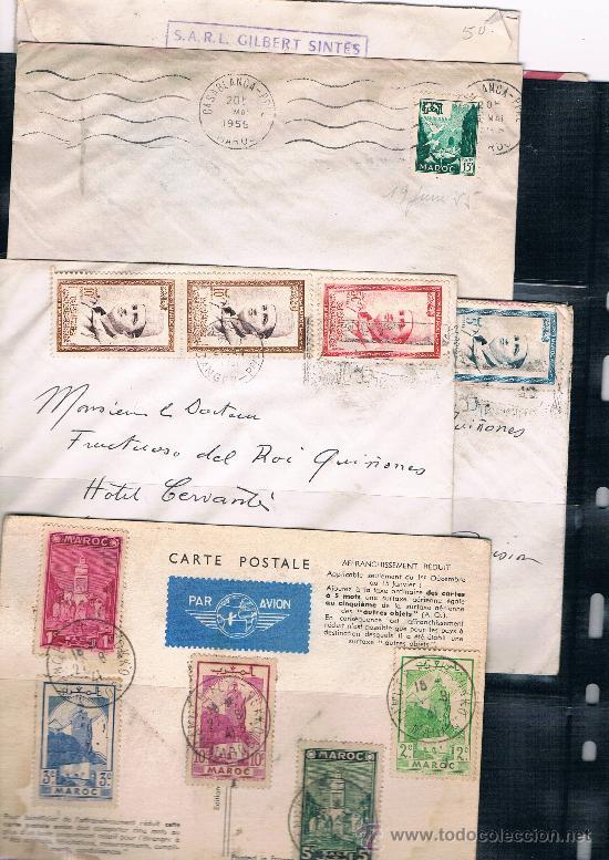 Sellos: Hiistoria Postal .-Marruecos - Foto 2 - 33312583