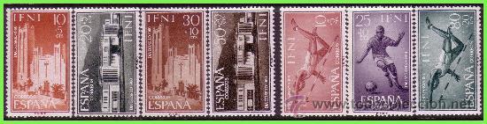 IFNI 1960 PRO INFANCIA Y DÍA DEL SELLO, EDIFIL Nº 172 A 178 * * (Sellos - España - Colonias Españolas y Dependencias - África - Ifni)