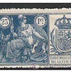 Sellos: 3217-GRAN SELLO GUINEA ESPAÑOLA ALTO VALOR NUEVO 25 PTS GRAN SELLO AÑO 1927 TERRITORIOS ESPAÑOLES . Lote 71558565