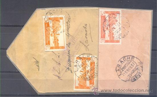 1937.- LARACHE INTERIOR (Sellos - España - Colonias Españolas y Dependencias - África - Marruecos)