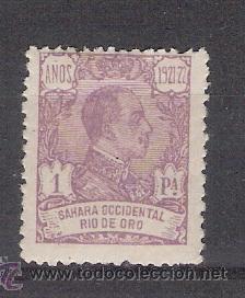 AÑO 1921 - RIO DE ORO - ALFONSO XIII - EDIFIL Nº 140 (Sellos - España - Colonias Españolas y Dependencias - África - Río de Oro)