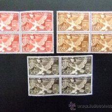 Sellos: GUINEA ESPAÑOLA AYUDA A VALENCIA (ESCUDOS) EDIFIL Nº 373 - 375 MNH YVERT Nº 388 - 390 MNH. Lote 35167499