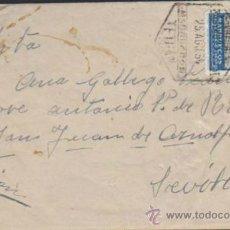 Sellos: CARTA DE TETUAN A SEVILLA. DEL 25 AGOS. 1954. FRANQUEADO CON SELLO 371.. Lote 35404159