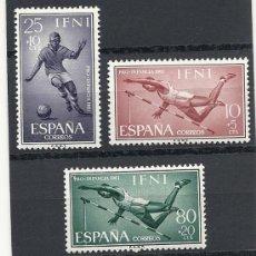 Sellos: IFNI 1961, EDIFIL Nº 176/178, PRO INFANCIA, GOMA CON SOMBRAS DEL TIEMPO. Lote 35517224