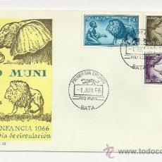 Sellos: SPD 1966 PRO INFANCIA ED 69 70 71 COMPLETA SOBRE PRIMERO DIA. Lote 35786755